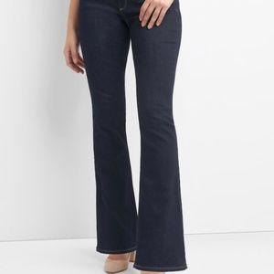 Gap 27 Long Curvy Bootcut Jeans